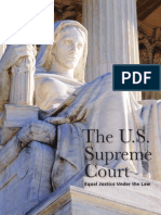The U.S. Supreme Court. Equal Justice under the Law