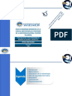 Plan de Seguridad Informática en la Escuela Universitaria de Post Grado de la UNFV