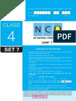 Nco Level1 Class 4 Set 7