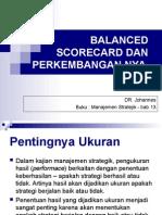 Str 13 Balance Scorecard Dan Perkembangannya