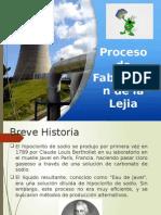 Proceso de Fabricacion de La Lejia