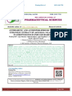 ANTIDIABETIC AND ANTIHYPERLIPIDEMIC ACTIVITY OF ETHANOLIC EXTRACT OF ARTEMISIA NILAGIRICA (clark) IN STREPTOZOTOCIN INDUCED DIABETIC RATS