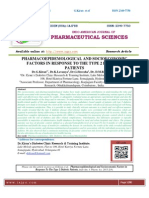 PHARMACOEPIDEMOLOGICAL AND SOCIOECONOMIC FACTORS IN RESPONSE TO THE TYPE 2 DIABETIC PATIENTS