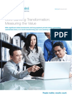 Core Banking Transformation Measuring the Value