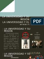 La Universidad y Su Misión