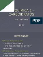 BioquÍmica 1 Carboidratos