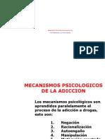 5. Mecanismos Psicologicos en Adicciones