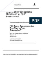 Organizational Readiness 360