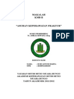 86545197 Makalah Askep Fraktur