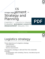 LM Session 2 - Logistics Strategy and Planning STUDENT COPY