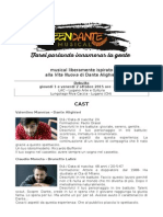 Teen Dante 2015 musical_debutto