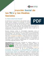 La Construcción Social TICs Medios Sociales