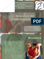 2752 VALORACION DEL ESTADO NUTRICIONAL