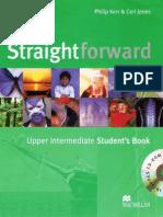 Straightforward Upper Intermediate Students Book