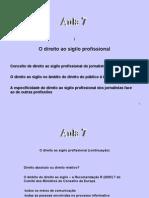 Aulas 2010 - 7 -Direitos Dos Jornalistas (2)