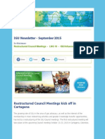 IGU Newsletter - September 2015