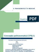 Concepţia Psihosomatică În Medicin