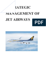 Strategic Management of Jet Airways