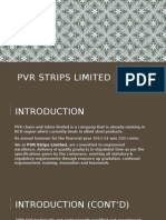 Pvr Strips Limited