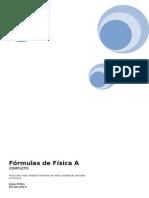 Fórmulas de FORMULAS DE FISICA A - COMPLETOFísica A
