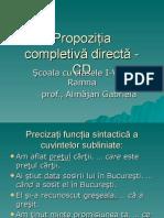 Completiva Directa (1)
