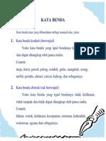 Kata Benda Dalam Bahasa Indonesia