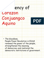 Presidency of Corazon Aquino