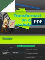 Transformacion de Sociedades
