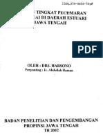 Analisis Pencemaran Air Sungai Estuaria Jawa Tengah