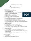 Np Lab List of Programs
