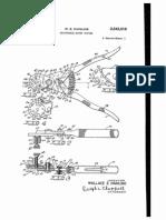 US2543018 - Rivet Cutter - Adjustable