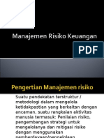 PPT Manajemen Risiko Keuangan