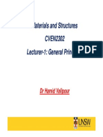 Lecture Note 1 (Steel)