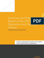 Summary and Statistical Report of the 2007