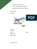 Informe de Antena