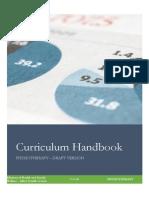 Pt Curriculum