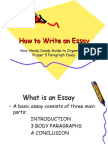 How to Write an Essay.ppt