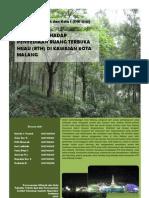 Evaluasi RTH Kota Malang
