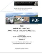 tesis de albergue en mexico