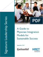 Guide to Physician Integration Models for Sustainable Success