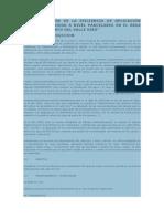 Determinaciòn de La Eficiencia de Aplicación Del Agua de Riego a Nivel Parcelario en El Área de Mejoramiento Del Valle Virú