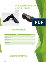 Production & Marketing Plan for Leather Shoes