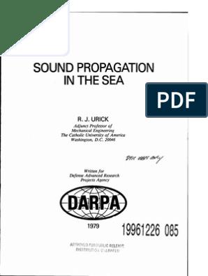 RJ Urick book.pdf | Waves | Wave Equation on