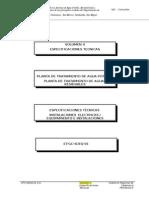 Especificaciones Hidraulicas y Eletcromecanicas