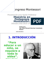 II Congreso Montessori