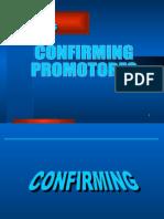 Confirming Promotor
