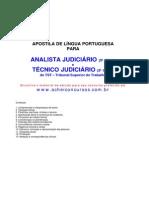 Apostila Português TST Analista e Técnico Judiciário