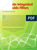 Substrate Integrated Waveguide Filters