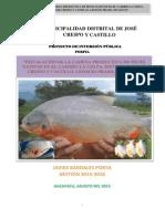 Perfil proyecto piscigranja La Colpa