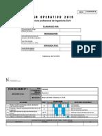 Plan Operativo Ing. Civil 2015